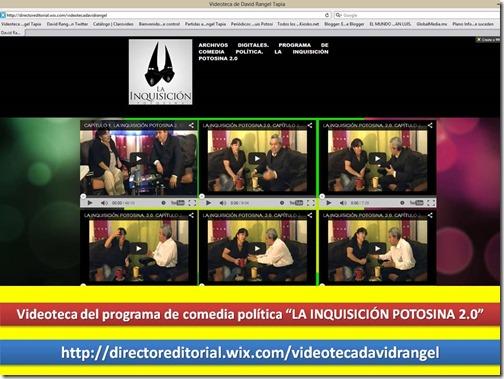 PROMO DE LA VIDEOTECA DE LA INQUISICIÓN POTOSINA 2.0