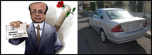 Auto y Mayorga