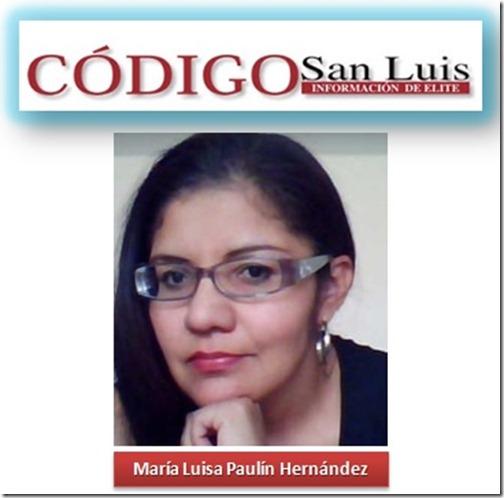 Columna de Maria Luisa Paulín Hernández