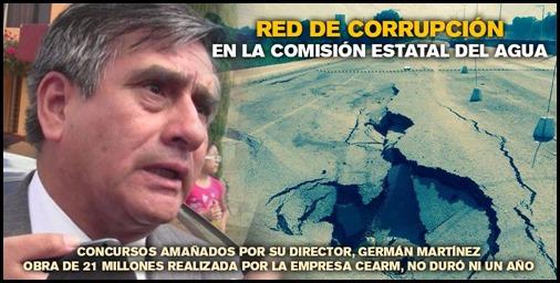 Corrupción en la CEA