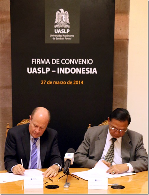 28Mar14 Firma Convenio Indonesia