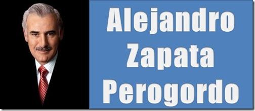 Editorial de Alejandro Zapata Perogordo