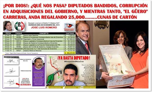 NOTICIAS EN LA CABECERA 1574