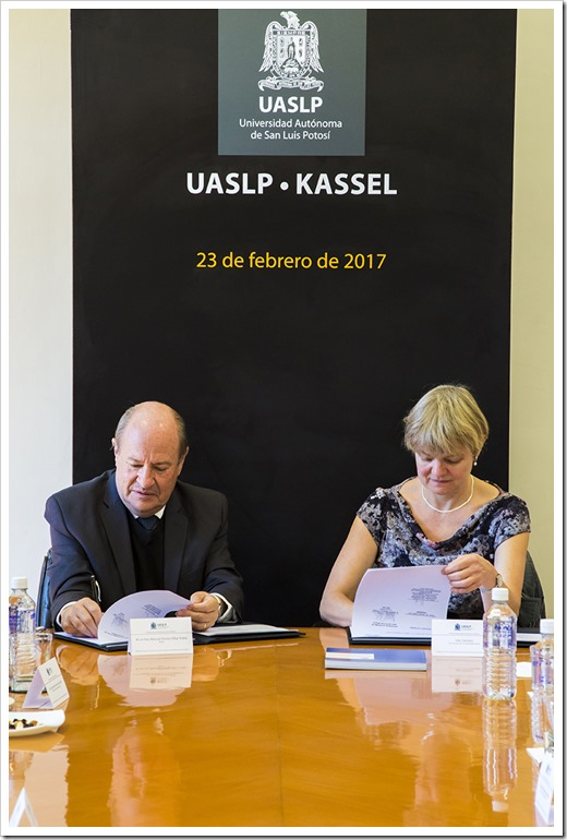 02-23-2017 (P) FIRMA DE CARTA DE INTENCION UASLP- UNIVERSIDAD DE KASSEL UASL0771