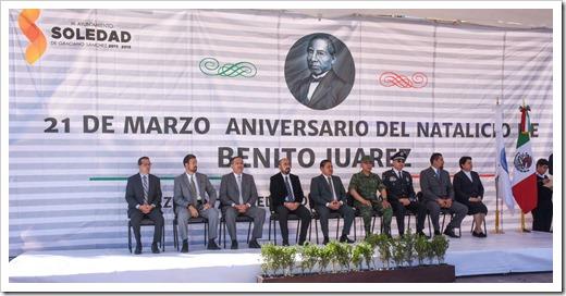 ANIVERSARIO  NATALICIO DE BENITO JUAREZ (3)