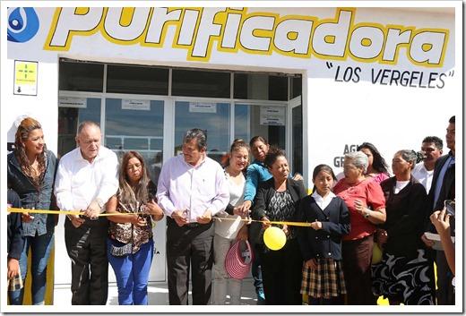 INAGURACION PURIFICADORA COL LOS VERGELES 5