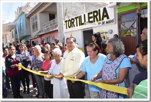 INAGURACION EXPENDIO TORTILLAS, COLONIA PRIMERO DE MAYO (7)