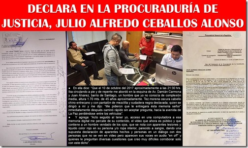 16. 10. 2017. DECLARA JULIO CEBALLOS