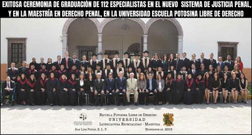 112 graduado EN LA UELD