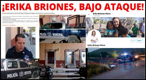 ¡ERIKA BRIONES, BAJO ATAQUE!