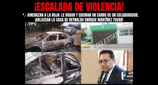 ¡ESCALADA DE VIOLENCIA!