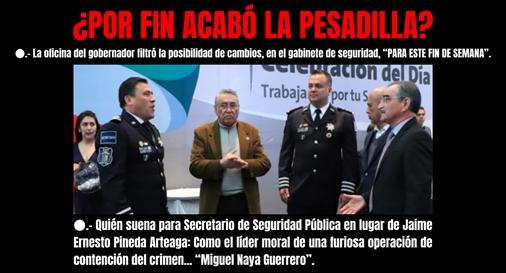 ¿POR FIN ACABÓ LA PESADILLA_