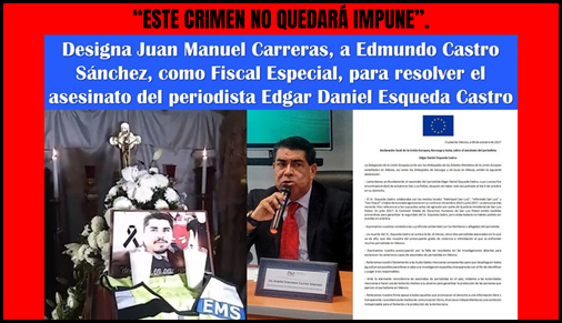 """ESTE CRIMEN NO QUEDARÁ IMPUNE""."