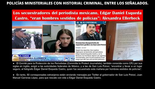 POLICÍAS MINISTERIALES CON HISTORIAL CRIMINAL, ENTRE LOS SEÑALADOS.