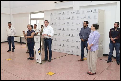 PRESENTACION DE CAMPAÑA DE SANITIZACION DEL TRASPORTE PUBLICO  2