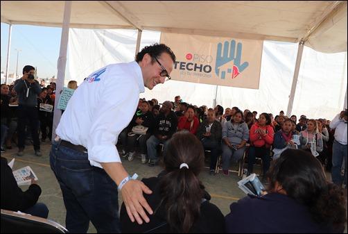 """""""DE PISO A TECHO ES TU DERECHO"""" BENEFICIARÁ A 5 MIL FAMILIAS MÁS 3"""