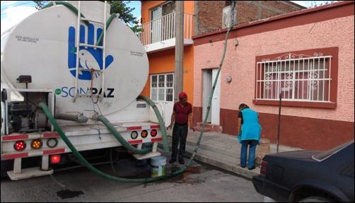 ENTREGA DE AGUA EN COMUNIDADES 2