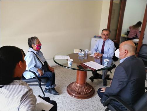 Reunión Dip. Martín Juárez Córdova con presidente de la CEDH