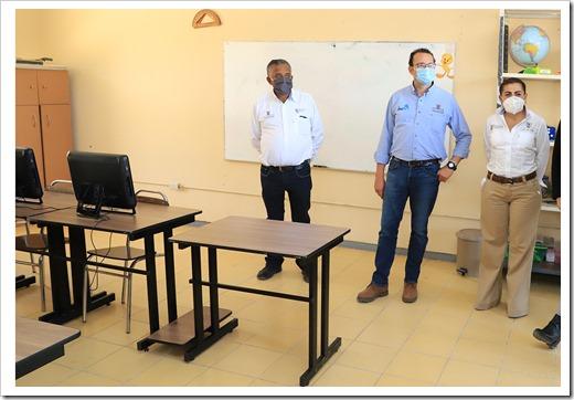 EDUCACIÓN MUNICIPAL DIGNIFICA ESPACIOS EDUCATIVOS EN LA CAPITAL 3