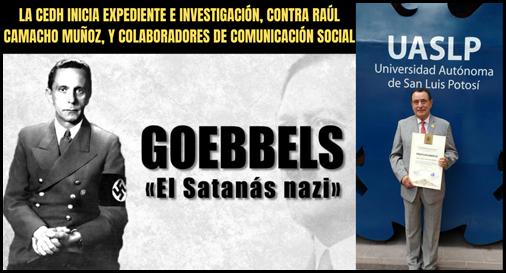 LA CEDH INICIA EXPEDIENTE E INVESTIGACIÓN, CONTRA RAÚL CAMACHO MUÑOZ, Y COLABORADORES DE COMUNICACIÓN SOCIAL