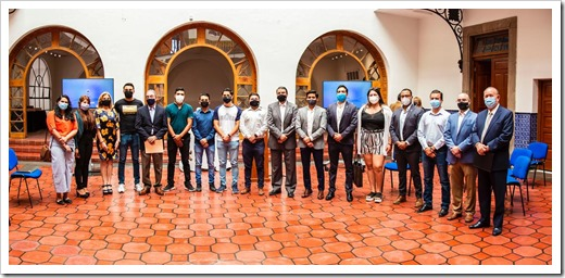 Rector pone en marcha el Centro de Emprendimiento Estudiantil Autónomo 2020  (1)