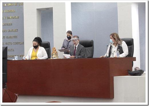Sesión de la Diputación Permanente.