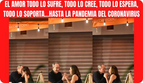 EL AMOR TODO LO SUFRE, TODO LO CREE, TODO LO ESPERA, TODO LO SOPORTA…HASTA LA PANDEMIA DEL CORONAVIRUS