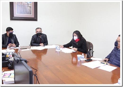 Reunión de trabajo Comisión Especial